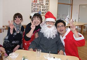 クリスマス会にて